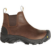 KEEN Men's Detroit Slip-On Steel Toe Work Boots