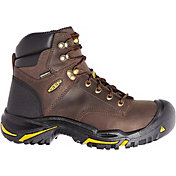 KEEN Men's Mt. Vernon 6'' Waterproof Steel Toe Work Boots