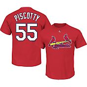 Majestic Youth St. Louis Cardinals Stephen Piscotty #55 Red T-Shirt