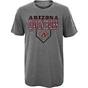 Majestic Youth Arizona Diamondbacks Heirloom Grey T-Shirt