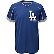Majestic Youth Los Angeles Dodgers Cool Base Emergence Royal Performance T-Shirt