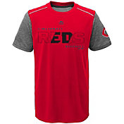 Majestic Youth Cincinnati Reds Cool Base Club Series Red Performance T-Shirt