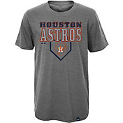 Majestic Youth Houston Astros Heirloom Grey T-Shirt