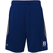 Majestic Youth Detroit Tigers Cool Base Rally Navy Performance Shorts