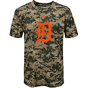 Majestic Youth Detroit Tigers Cool Base Digi Camo Performance T-Shirt