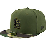 New Era Men's St. Louis Cardinals 59Fifty 2017 Memorial Day Camo Authentic Hat