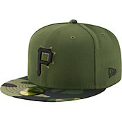 New Era Men's Pittsburgh Pirates 59Fifty 2017 Memorial Day Camo Authentic Hat