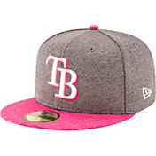 New Era Men's Tampa Bay Rays 59Fifty 2017 Mother's Day Authentic Hat