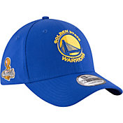 New Era Men's 2017 NBA Champions Golden State Warriors 39Thirty Royal Flex Hat