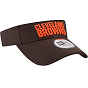 New Era Men's Cleveland Browns 2017 Training Camp Brown Adjustable Visor