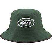New Era Men's New York Jets 2017 Training Camp Green Bucket Hat