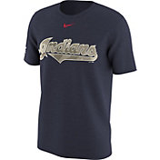 Nike Men's Cleveland Indians Memorial Day Navy T-Shirt