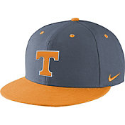 Nike Men's Tennessee Volunteers Gray/Tennessee Orange True Fitted On-Field Baseball Hat