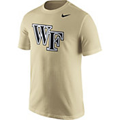 Nike Men's Wake Forest Demon Deacons Gold Logo T-Shirt