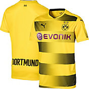 PUMA Men's Borussia Dortmund 17/18 Replica Home Stadium Jersey
