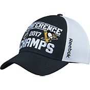 Reebok Men's 2017 NHL Eastern Conference Champs Pittsburgh Penguins Locker Room Adjustable Hat