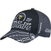 Reebok Men's 2017 NHL Stanley Cup Champions Pittsburgh Penguins Locker Room Adjustable Hat
