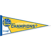 Rico 2017 NBA Western Conference Champions Golden State Warriors Pennant