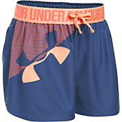 Under Armour Girls' Graphic Play Up Shorts