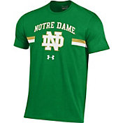 Under Armour Men's Notre Dame Fighting Irish Green T.A.P.S. T-Shirt