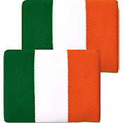 Unique Sports Ireland Flag Soccer Wristbands