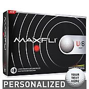 Maxfli U/6 Tour Personalized Golf Balls