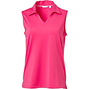 Lady Hagen Women's Essential Sleeveless Golf Polo