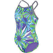 Dolfin Girls' Uglies Cross Back Swimsuit
