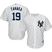 Majestic Men's Replica New York Yankees Masahiro Tanaka #19 Cool Base Home White Jersey
