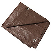 Texsport Brown Reinforced Tarp
