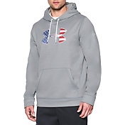 Under Armour Men's Big Flag Logo Armour Fleece Hoodie