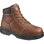 "Wolverine Men's Marquette 6"" Steel Toe Wide Work Boots"