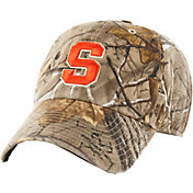 '47 Men's Syracuse Orange Camo Clean Up Adjustable Hat