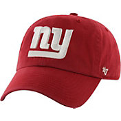 '47 Men's New York Giants Cleanup Red Adjustable Hat