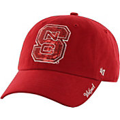 '47 Women's North Carolina State Wolfpack Red Clean Up Sparkle Adjustable Hat