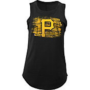 5th & Ocean Women's Pittsburgh Pirates Black Tank