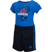 adidas Infant Boys' I Never Stop Onesie Set