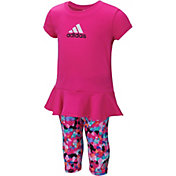 adidas Infant Spin T-Shirt and Capris