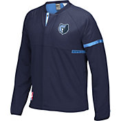 adidas Men's Memphis Grizzlies On-Court Navy Jacket