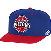 adidas Men's Detroit Pistons On-Court Adjustable Snapback Hat