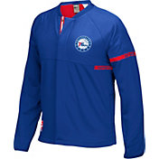 adidas Men's Philadelphia 76ers On-Court Royal Jacket