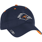 adidas Men's UTSA Roadrunners Blue Sideline Coaches Adjustable Slouch Hat