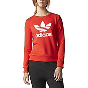 adidas Originals  Women's Trefoil Crewneck Sweatshirt