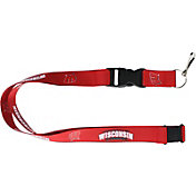 Wisconsin Badgers Red Lanyard
