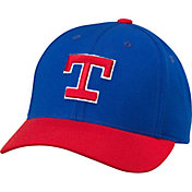 American Needle Men's Texas Rangers Royal/Red Cooperstown Tradition Hat
