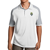 Antigua Men's Seattle Sounders Century White Polo