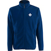 Antigua Men's Toronto Maple Leafs Blue Full-Zip Ice Jacket