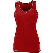 Antigua Women's New York Yankees Patriotic Logo Red Sport Tank Top