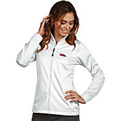 Antigua Women's Ole Miss Rebels White Performance Golf Jacket