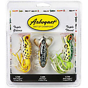 Arbogast Triple Threat Topwater Frog 3-Pack